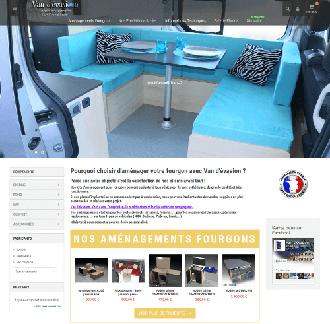 aménagement fourgon camping car